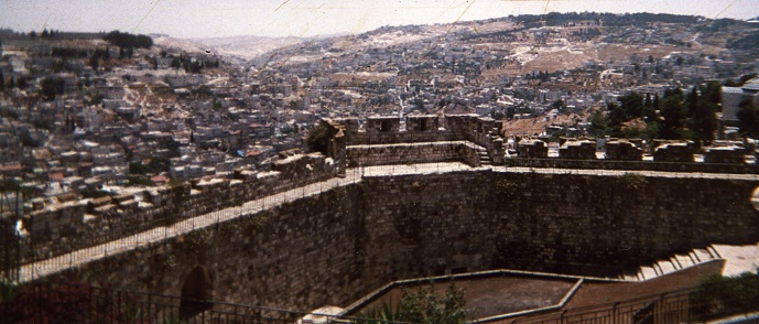 City Of South Gate >> JERUSALEM WALL - The Majestic Wall of Old Jerusalem